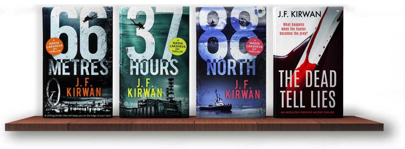 JF Kirwan Thriller series;